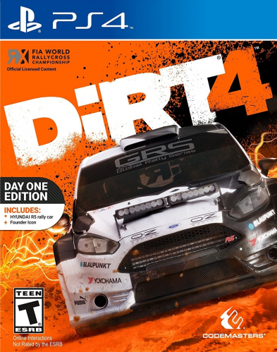 DiRT 4 (Day One Edition) Boxart