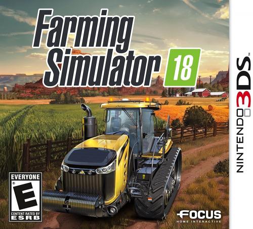 Farming Simulator 18 Boxart