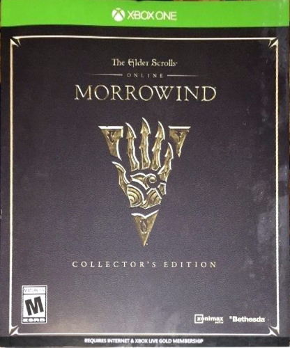 The Elder Scrolls Online: Morrowind (Collector's Edition) Boxart