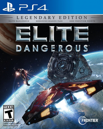 Elite: Dangerous (Legendary Edition) Boxart