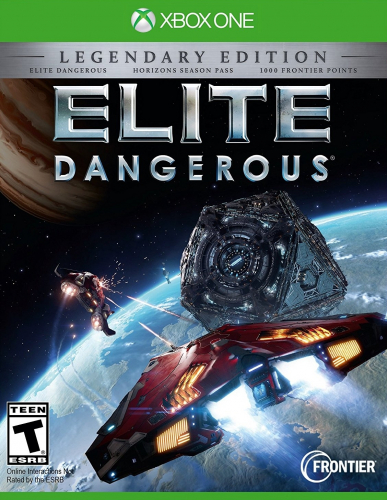 Elite: Dangerous - Legendary Edition Boxart