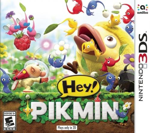Hey! Pikmin Boxart