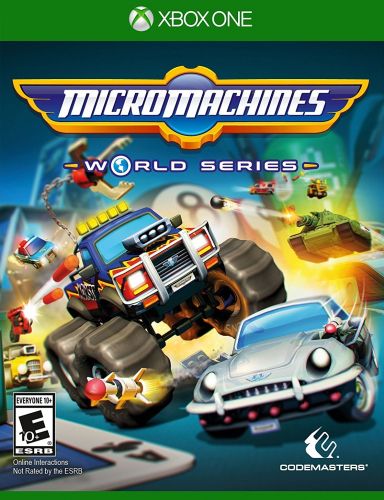 Micro Machines World Series Boxart