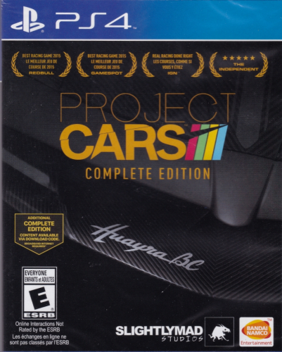 Project CARS (Complete Edition) Boxart