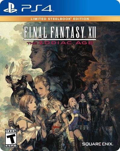 Final Fantasy XII: The Zodiac Age (Limited Steelbook Edition) Boxart