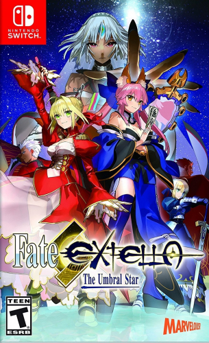 Fate/Extella: The Umbral Star Boxart