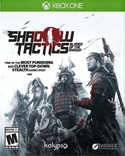 Shadow Tactics: Blades of the Shogun Boxart
