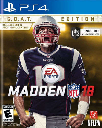 Madden NFL 18 (G.O.A.T. Edition) Boxart