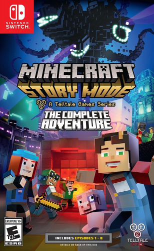 Minecraft: Story Mode - A Telltale Games Series - The Complete Adventure Boxart