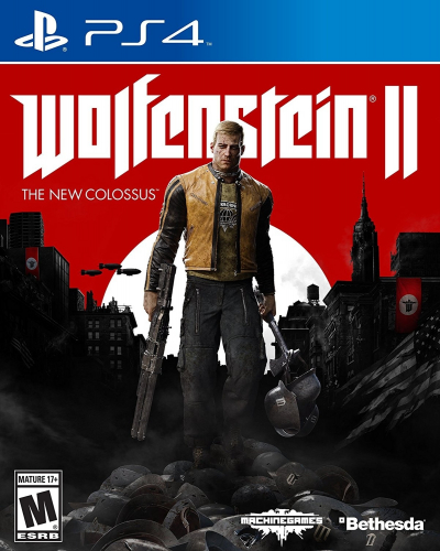 Wolfenstein II: The New Colossus Boxart