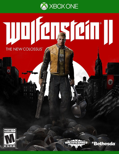 Wolfenstein II: The New Colossus Boxart