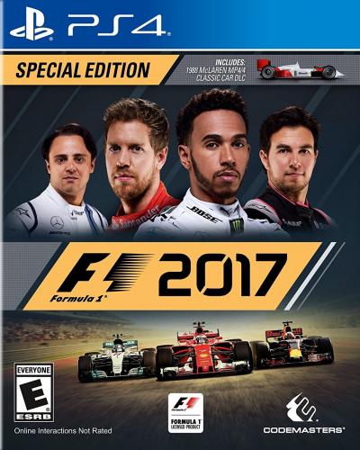 F1 2017 Boxart