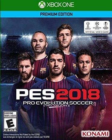 Pro Evolution Soccer 2018 Boxart