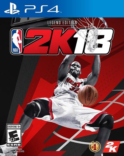 NBA 2K18 (Legend Edition) Boxart