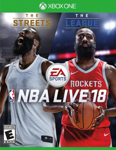NBA Live 18 (The One Edition) Boxart