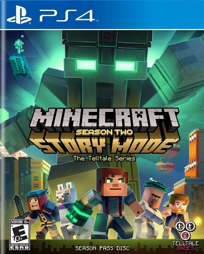 Minecraft: Story Mode - Season Two: The Telltale Series Boxart