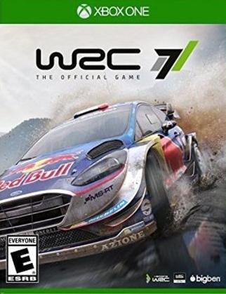 WRC 7 Boxart