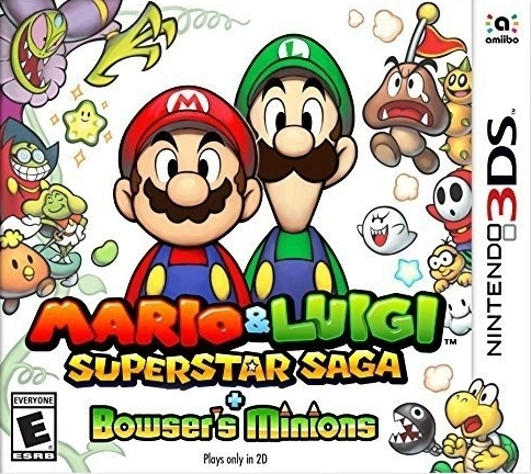 Mario & Luigi: Superstar Saga + Bowser's Minions Boxart
