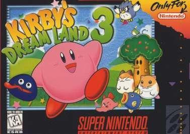 Kirby's Dream Land 3 Boxart