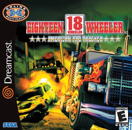 18-Wheeler American Pro Trucker Boxart