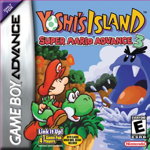 Yoshi's Island: Super Mario Advance 3 Boxart