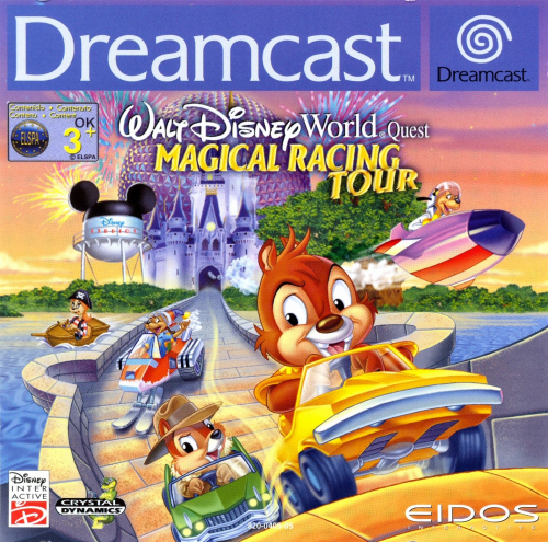 Walt Disney World Quest: Magical Racing Tour Boxart