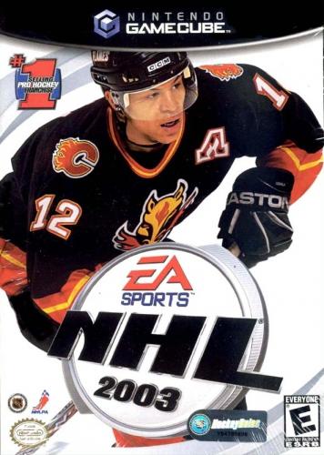 NHL 2003 Boxart