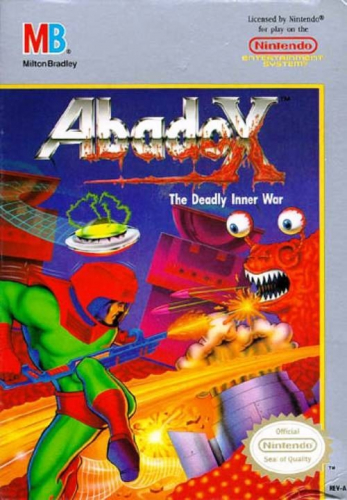 Abadox: The Deadly Inner War Boxart