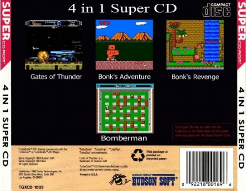 4 In 1 Super CD Back Boxart